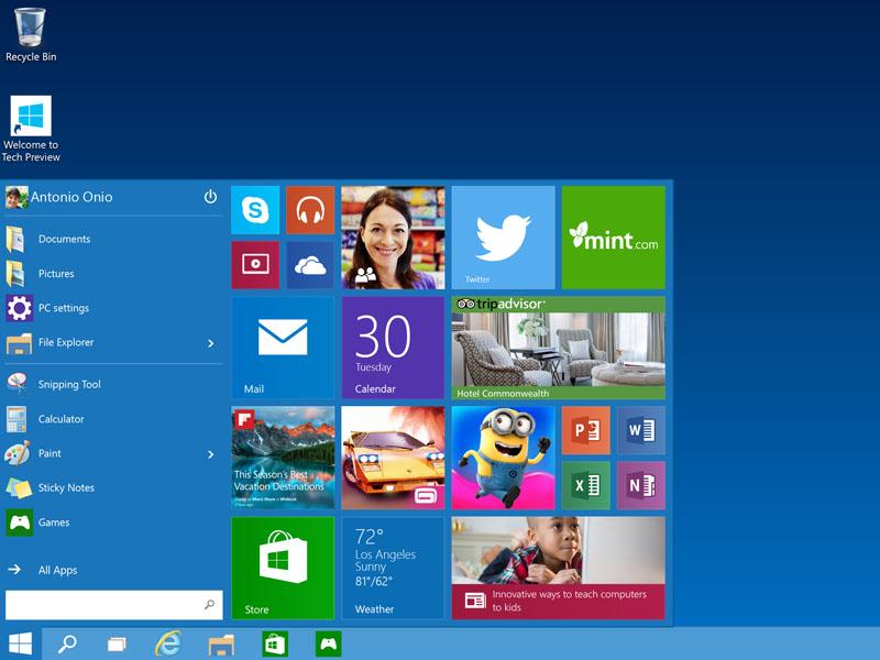 windows_10_features_start_menu