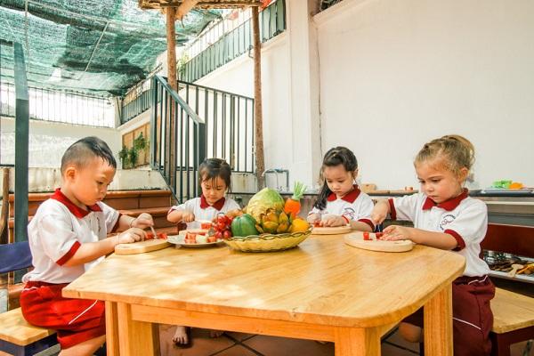 Top 5 trường mầm non Montessori tốt nhất Tp.HCM: Quận 2, Quận 7 4