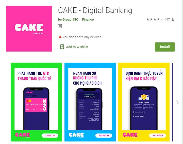 Ngân hàng số Cake by VPBank là gì? Ưu điểm gì? Cách đăng ký 9